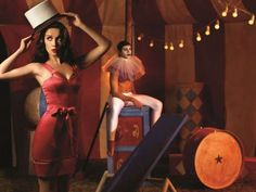 Glamorized Circus Galleries - The Las Oreiro 2012 Campaign is Full of Elegant Stunts and Tricks (GALLERY)