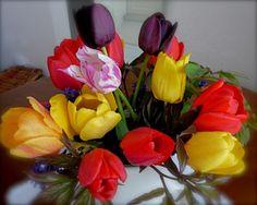 Do vázy….