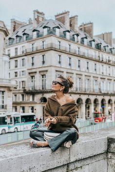 Paris Fashion Week Looks | Collage Vintage