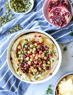 roasted butternut squash hummus I http://howsweeteats.com
