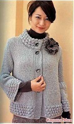 Knitting Stiches, Sweater Knitting Patterns, Cardigan Pattern, Knitting Socks, Knitted Coat, Hand Knitted Sweaters, Cardigan Sweaters For Women, Cardigans For Women, Cardigan Au Crochet
