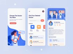 Doctor Consultation App Design by UI Flocks The post Doctor Consultation App Design – Figma Freebie appeared first on Free Dune. The Effective Pictures We Offer You About App Design poster A quality p Web Design, App Ui Design, User Interface Design, Android Design, Graphic Design, Flat Design, Branding Design, Mobile App Design, Mobile Ui
