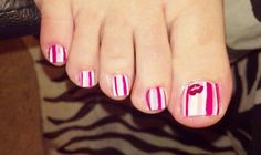 How To Paint Toe Nails Perfectly