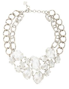 Stone Chain Necklace From BCBGMAXAZRIA! #lordandtaylor