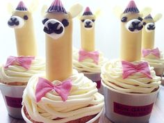 Alpaca Cupcake