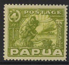 PAPUA-NEW-GUINEA-1932