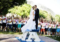 Utah State Wedding Photo