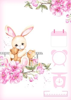 Baby Girl Drawing, Baby Animal Drawings, Rideaux Design, Teddy Pictures, Baby Love Quotes, Baby Birthday Card, Girl Gift Baskets, Cute Pastel Wallpaper, Baby Shower Deco