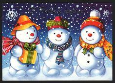 Love the snowmen
