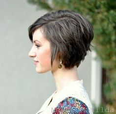 35 Summer Hairstyles for Short Hair - PoPular Haircuts Modern Short Hairstyles, Cute Short Haircuts, Cute Hairstyles For Short Hair, Pretty Hairstyles, Summer Hairstyles, Bob Hairstyle, Layered Haircuts, Haircut Short, Beehive Hairstyle