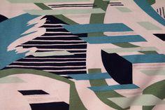 Ptx AANBIEDING 151077-14 Tricot fantasie groen/aqua met glittertje
