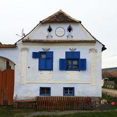 Viscri, Transilvania - 31 de căsuțe colorate [Foto]