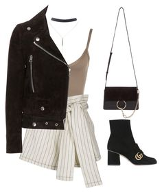 """""""Sans titre #1545"""" by frenchystyle ❤ liked on Polyvore featuring WearAll, 3.1 Phillip Lim, Gucci, Wet Seal, Acne Studios and Chloé"""