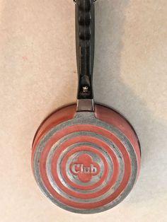 "Vintage 6"" CLUB Aluminum PINK LID ONLY for Pot Sauce Pan Skillet Cookware  | eBay"