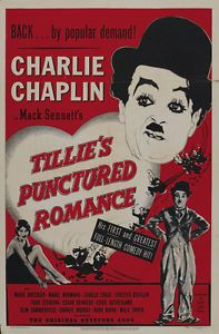 1914+movie+posters | Tillie's Punctured Romance (1914) Charlie Chaplin movie poster print