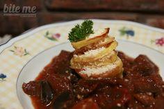 Baklažán+pre+fajnšmekrov Veggies, Beef, Food, Meat, Vegetable Recipes, Vegetables, Essen, Meals, Yemek