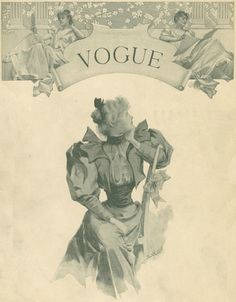 Vogue's 1st cover in 1892