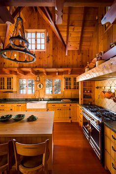 Rustic Home Kitchens