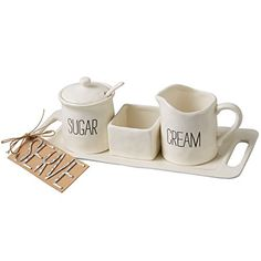 Mud Pie Bistro Cream & Sugar Set, White Mud Pie https://www.amazon.com/dp/B01AXCDA6K/ref=cm_sw_r_pi_dp_x_qPKQxbZCPN0EG