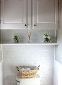 powder room cabinets