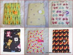 Note Book A6 with padded fabric cover - The Supermums Craft Fair