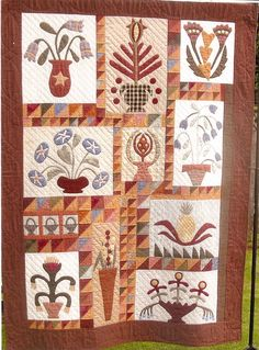 Flowers pattern by Linda Brannock - I have this quilt about half done.  Still love it!!!