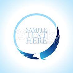 Gracieuse du soaring eagle logo  cliparts vectoriels libres de droits