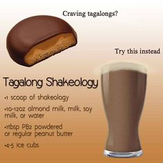 I drink this every morning! Not only does it curb my chocolate addiction, it also curbs my coffee/soda one throughout the day! Visit my site for more info on Shakeology and it's health benefits :) 310 Shake Recipes, Protein Shake Recipes, Protein Shakes, Smoothie Recipes, Shakeology Shakes, Beachbody Shakeology, Shakeology Benefits, Healthy Shakes, Healthy Drinks