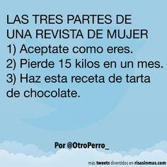 LAS TRES PARTES DE UNA REVISTA DE MUJER. #humor #risa #graciosas #chistosas #divertidas