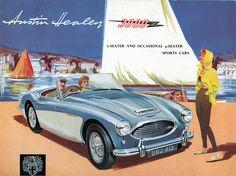 Austin Healey 3000 Brochure | Flickr: Intercambio de fotos