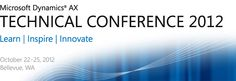 Technical Conference Microsoft Dynamics AX 2012 R2