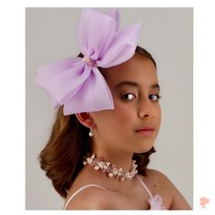 One way to make this year exceptional is to make a statement using bold and big bows. 🎀 Have you tried wearing one? Hair Bow Tutorial, Kids Branding, Big Bows, Pink Hair, Hair Clips, Halo, Headbands, Lilac, Blush