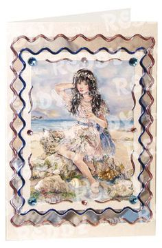 3D-Die-Cuts Dream Tide, Size A4, Little Sea Princess, Arctic Princess-82803