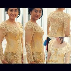 Vera Kebaya - Indonesia Vera Kebaya, Kebaya Lace, Batik Kebaya, Kebaya Moden, Indonesian Kebaya, Model Kebaya, Lace Dress, Dress Up, Lovely Dresses