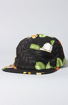 The Floral 5 Panel Hat in Multi by Scout