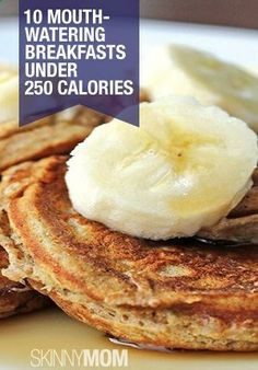 Skinny Mini Banana Pancakes - Food by Marry Anne