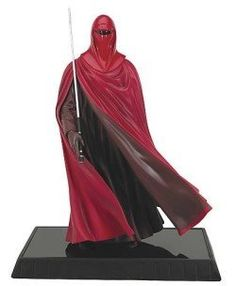"Star Wars Royal Guard Statue by Gentle Giant. $124.95. A Gentle Giant Design and Sculpt!. Includes a Certificate of Authenticity - limitation to be determined.. Featuring the ever-loyal and watchful Emperial Royal Guardsmen, this 13"" statue was sculpted by Gentle Giant using the latest in digital scanning technology.. Silent sentinels, the ever-loyal and watchful Royal Guardsmen watch over the saftey of the Emperor and his Empire. Gentle Giant brings these dedi..."
