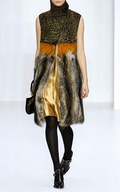 Marmot Long Vest by Salvatore Ferragamo for Preorder on Moda Operandi