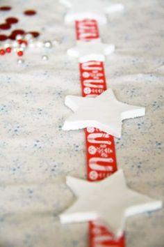 Tutorial :: Quick Scandinavian Christmas garland