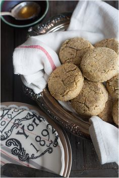 Gluten-free and Vegan Cornmeal Millet Biscuits with Rosemary and Honey ...