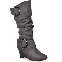1509s Journee Collection Irene Wedge Slouch Boots