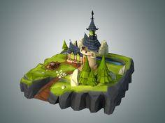 Resultado de imagen para Low Poly Game Environment in Maya