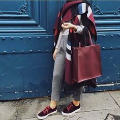 Trendy fall hijab style for 2018 – Just Trendy Girls
