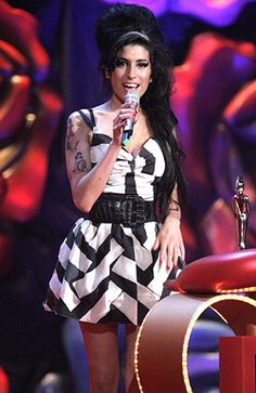 Amy Winehouse - The 2007 Mastercard Brit Awards in London, February 14, 2007