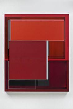 "Shape Shifter, 2010, acrylic on canvas, 59"" x 49"""