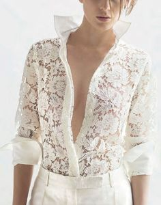 sismaxina: Valentino white lace - Marie Claire...