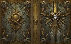 Book of Tyrael from Diablo 3
