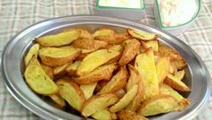 Batatas rústicas com alecrim e limão (no forno ou na air fryer)