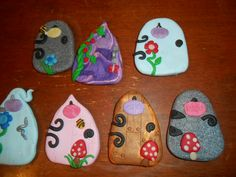 Fairy doors made of polymer clay by Lainey Lambchop Designs UK
