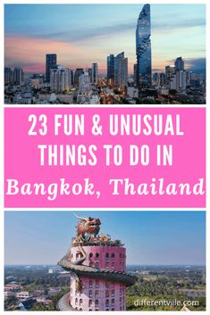Looking for more unusual things to do in Bangkok - then we have them. From amazing unusual temples, interesting street arts, unique local foods and restaurants and some fun day trips, you'll definitely find heaps of ideas to make your Bangkok trip memorable. #bangkok #thingstodoinbangkok #bangkoktrip Bangkok Trip, Bangkok Travel Guide, Thailand Travel Tips, Asia Travel, Things To Do, How To Memorize Things, Worldwide Travel, Unusual Things, Travel Articles